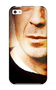 High Quality Shock Absorbing Case For Iphone 5c-bruce Willis