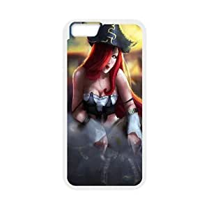 Miss Fortune League Of Legends Game iPhone 6 4.7 Inch Cell Phone Case White Customized Toy pxf005_9722876