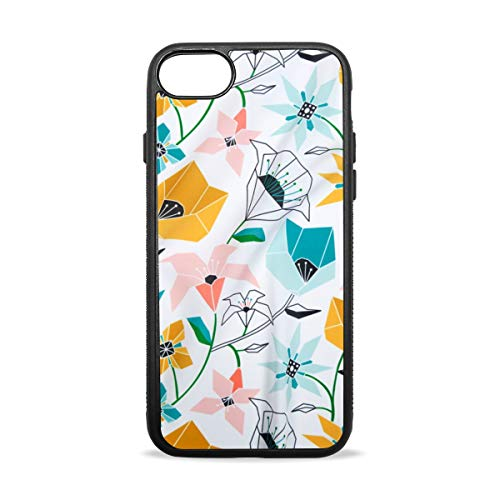 KEAKIA Tangram Design iPhone Case Soft TPU Rubber Skin Slim Protective Cover for (iPhone -