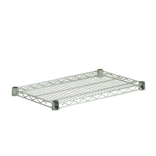 UPC 847539000350, Honey-Can-Do SHF800C1636 Steel Wire Shelf for Urban Shelving Units, 800-Pound Capacity, Chrome, 16Lx36W