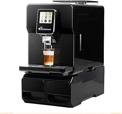 Máquina de espresso totalmente automática 19bar Presión alta extracción de riego automático de pantalla táctil inteligente función de limpieza automática de la máquina de café Fantasía leche Adecuado: Amazon.es: Hogar
