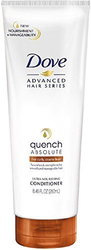 Dove Advanced Hair Series Ultra Nourishing Conditioner, Quench Absolute 8.45 oz (Pack of 3)