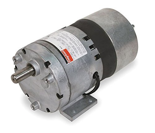 Dayton AC Parallel Shaft Gear Motor 13 RPM, 1/10hp 115 volts 60hz. (3M136) Model 1LPN2 by Dayton