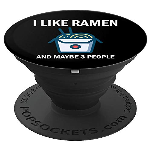 I Like Ramen Kawaii Japanese Culture Noodle Food Anime Gift - PopSockets Grip and Stand for Phones and Tablets
