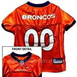 Pets First Official NFL Denver Broncos Jersey X-Small