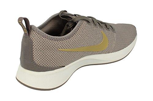 Nike Women's W Dualtone Racer Se Competition Running Shoes Multicolour (Gunsmoke / Metallic 006) Y2N6p