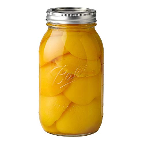 Ball Regular Mouth Clear Glass Canning Quart Mason Jars w/Lids, 32 Oz (72 Pack) by Ball Jars (Image #2)