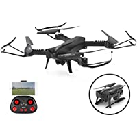 Blexy RC Drone with 720P HD Wifi Camera Live Video 2.4Ghz Remote Control Quadcopter 6-Axis Gyro 4CH FPV Headless Mode Helicopter with Altitude Hold and One Key Return