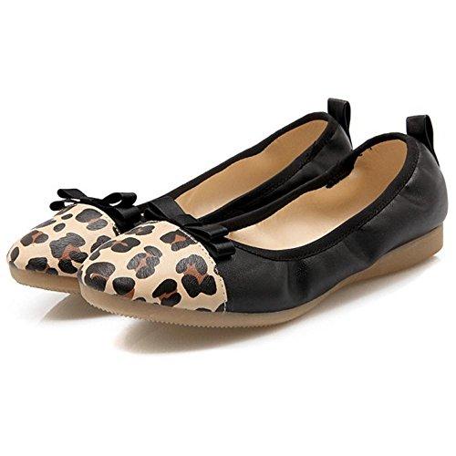 Chaussures VulusValas Black Ballerines Confort Femmes rPnARxwPq