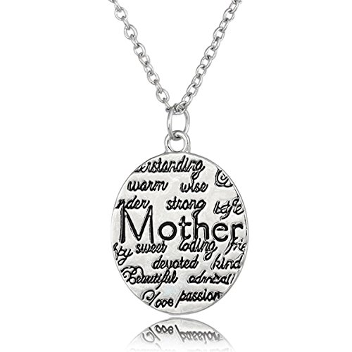 Davines Hair Set (Pendant Necklace for Women Fashion Jewelry Valentines Mothers Day Present for Mom, Wife, Sister, Daughter, Grandma, Aunt (C05))
