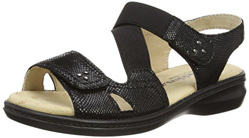 Black Padders Sandals Women's Black Louise twrzFqSw