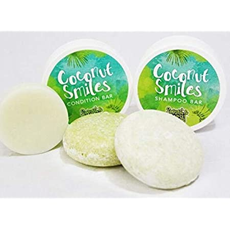Sweet & Sassy Shampoo and Conditioner Bars