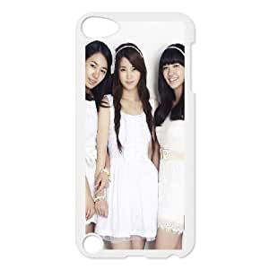 iPod Touch 5 Case White A Pink E1S2XJ