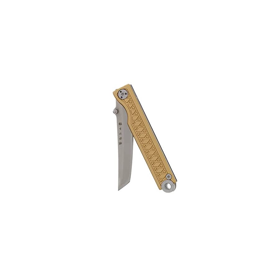 StatGear Pocket Samurai Folding Knife by for EDC Aluminum Handle Edition