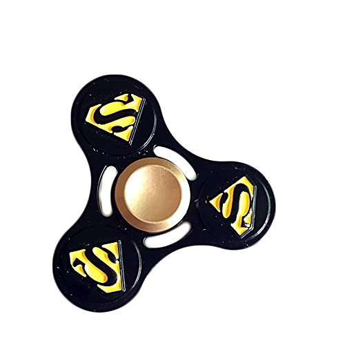 IRIDA Anti-Anxiety 360 Spinner Helps Focusing Fidget Toy Tri-Spinner EDC Focus Toy for Kids & Adults ()