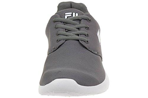 Fila Alva Low Run Men Running Trainers Sneakers Fitness Grey Venta 100% Originales kPS2Q