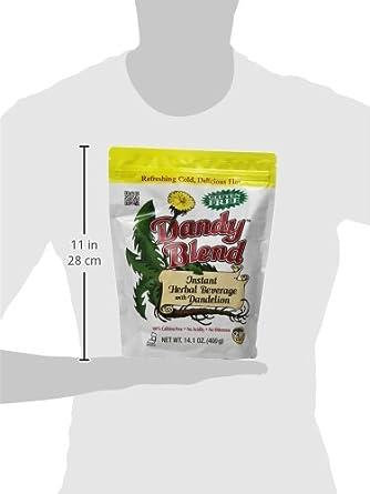 Dandy Blend, Instant Herbal Beverage with Dandelion, 2 lb. Bag: Amazon.es: Alimentación y bebidas