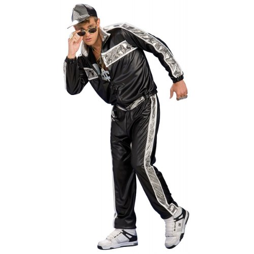Rubie's Costume Co. Men's Rap Idol Costume, As Shown, (Vanilla Ice Halloween Costume)