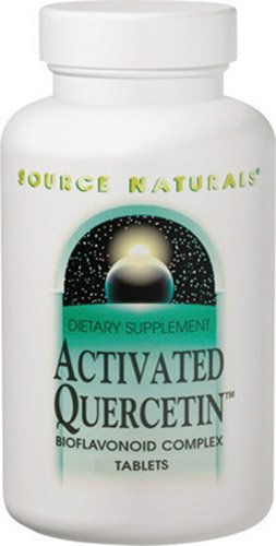 Source Naturals Activated QuercetinT -- 50 Tablets - 3PC by Source Naturals