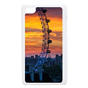 New Style Ferris Wheel Image Phone Case For iPod Touch 4