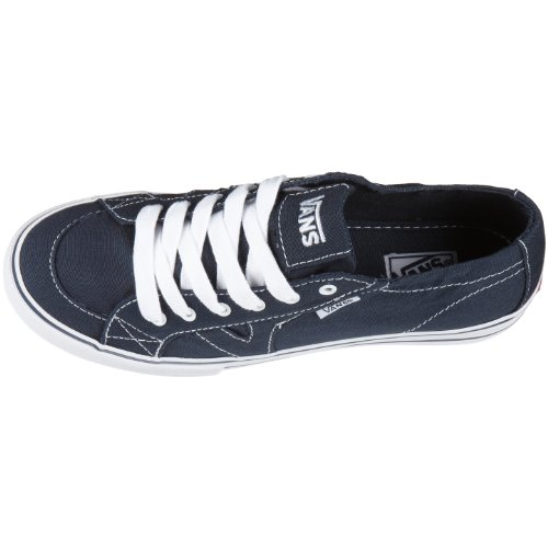 Vans W TORY Navy/White VXFQ - Zapatillas de lona para mujer Azul (Blau (Navy/White))