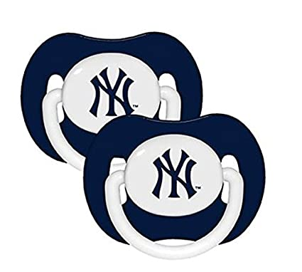 New York Yankees chupete - 2 Pack: Amazon.es: Deportes y ...