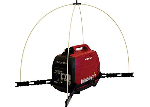 GenTent 10K Generator Tent Running Cover - XKI Kit (Standard, TanLight) - Compatible with 1000w-3000w Inverter Generators by GenTent Safety Canopies (Image #1)
