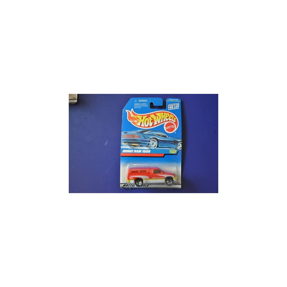 #797 Dodge Ram 1500 5 Hole Wheels Collectibles Collector Car Hot Wheels