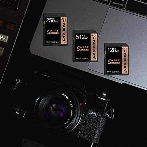 Card 256GB Memory Card Fast Speed Security Digital Flash Memory Card Class 10 for Camera,Videographers&Vloggers and Other Card Compatible Devices(256GB)