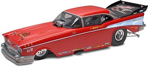 Revell/Monogram McEwen '57 Chevy Funny Car Plastic Model Kit (1/24 Scale) (Revell Model Cars Kits 57 Chevy)