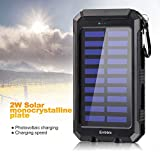 20000mAh Solar Power Bank Solar Charger