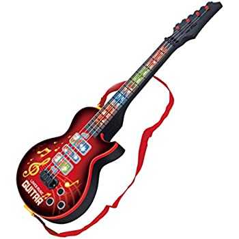 best choice products kids electric guitar play set w mp3 player blue toys games. Black Bedroom Furniture Sets. Home Design Ideas