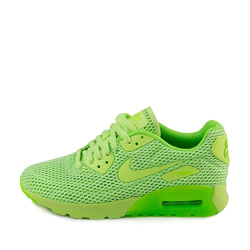 Nike Womens W Air Max 90 Ultra Fantasma Verde / Rete Elettrica Verde