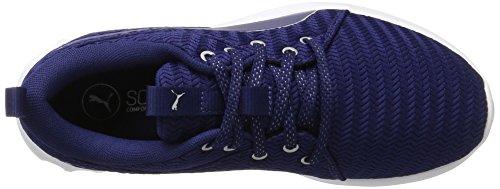 Puma Carson 2 Metallic, Zapatillas de Deporte para Exterior para Mujer Azul (Blue Depths-silver)