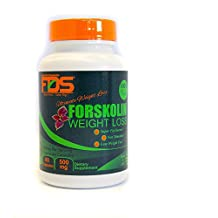 New FDS Forskolin: All Natural 100% Pure Max Strength, Super Weight Loss formula for Rapid Weight loss - Veggie Supplement, 500 Mg 60 Veg Capsules - Pure Appetite Suppressant