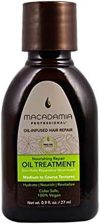 Macadamia Professional Hair Care Sulfate & Paraben Free Natural Organic Cruelty-Free Vegan Hair Products Nourishing Hair Repair Oil Treatment-0.9oz