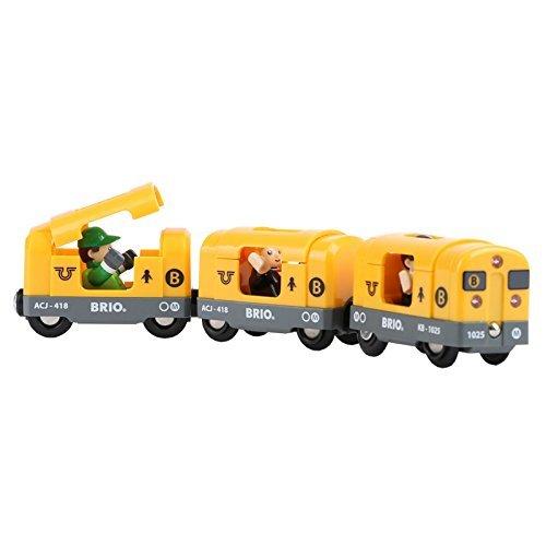 4105lK9mbAL - Brio Railway World Deluxe Set