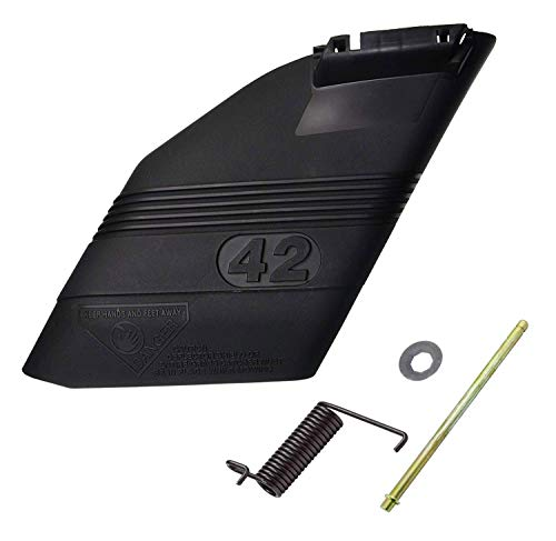 Craftsman 532130968 Mower Deck Deflector Shield Kit with Mounting Hardware (Craftman Riding Mower Parts)