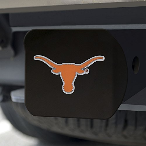 Black Ncaa Cover - FANMATS NCAA Texas Longhorns University of Texascolor Hitch - Black, Team Color, One Size