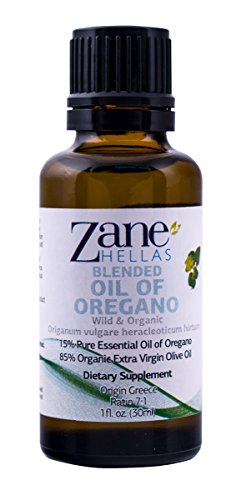 SUPER 15. OREGANO OIL . 1oz.-30ml. PRE-DILUTED BLEND. READY for USE. Pure Greek Wild Oil of Oregano Oil. 15% Oregano Oil – 85% Extra Virgin Olive Oil. Provides Carvacrol per Serving 19,35 mg Super Active 30 Pills