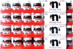 nutella-weekly-pack-for-travellers-4-packages-with-each-7-mini-jars-limited-edition
