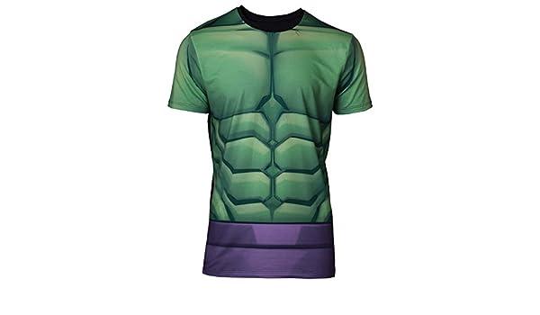 Amazon.com: Difuzed Marvel Sublimation T-Shirt Hulk Size L shirts: Clothing
