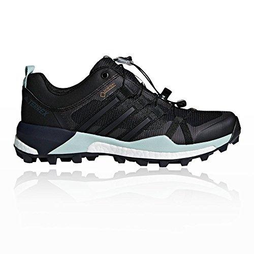 adidas Women's Terrex Skychaser GTX W Low Rise Hiking Boots, Black Black (Cblack/Cblack/Ashgrn Cblack/Cblack/Ashgrn)