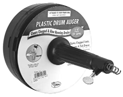 """Lincoln 107913 1/4"""" x 15' Power Drum Auger"""