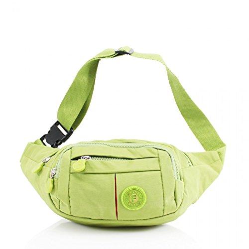 Belt Green Unisex Bum Wallet Bag Travel Festival Passport Pack Fanny Pouch Ticket Waist Money Ofwfq4Er