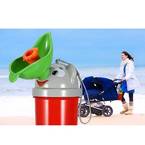 NUOLUX Baby M/ädchen Tragbare Notfall T/öpfchen Urinal
