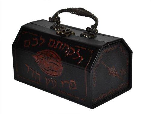 Leather-Etrog-Box