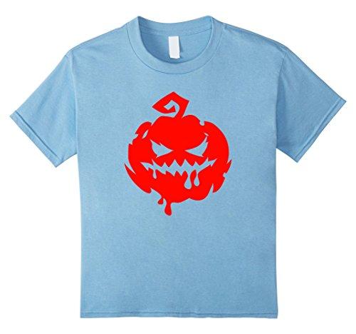 Top 10 Easy Halloween Costumes (Kids Halloween Scary Pumpkin Face - Easy Halloween Costume Top 10 Baby Blue)