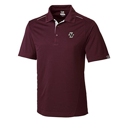 NCAA Men's CB Dry Tec Foss Hybrid Polo,Boston College (College Clothing Store)