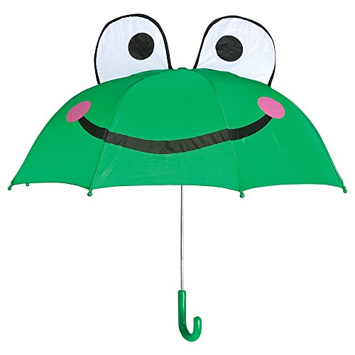 Kids Frog Umbrella with easy grip handle (Frog Umbrella)